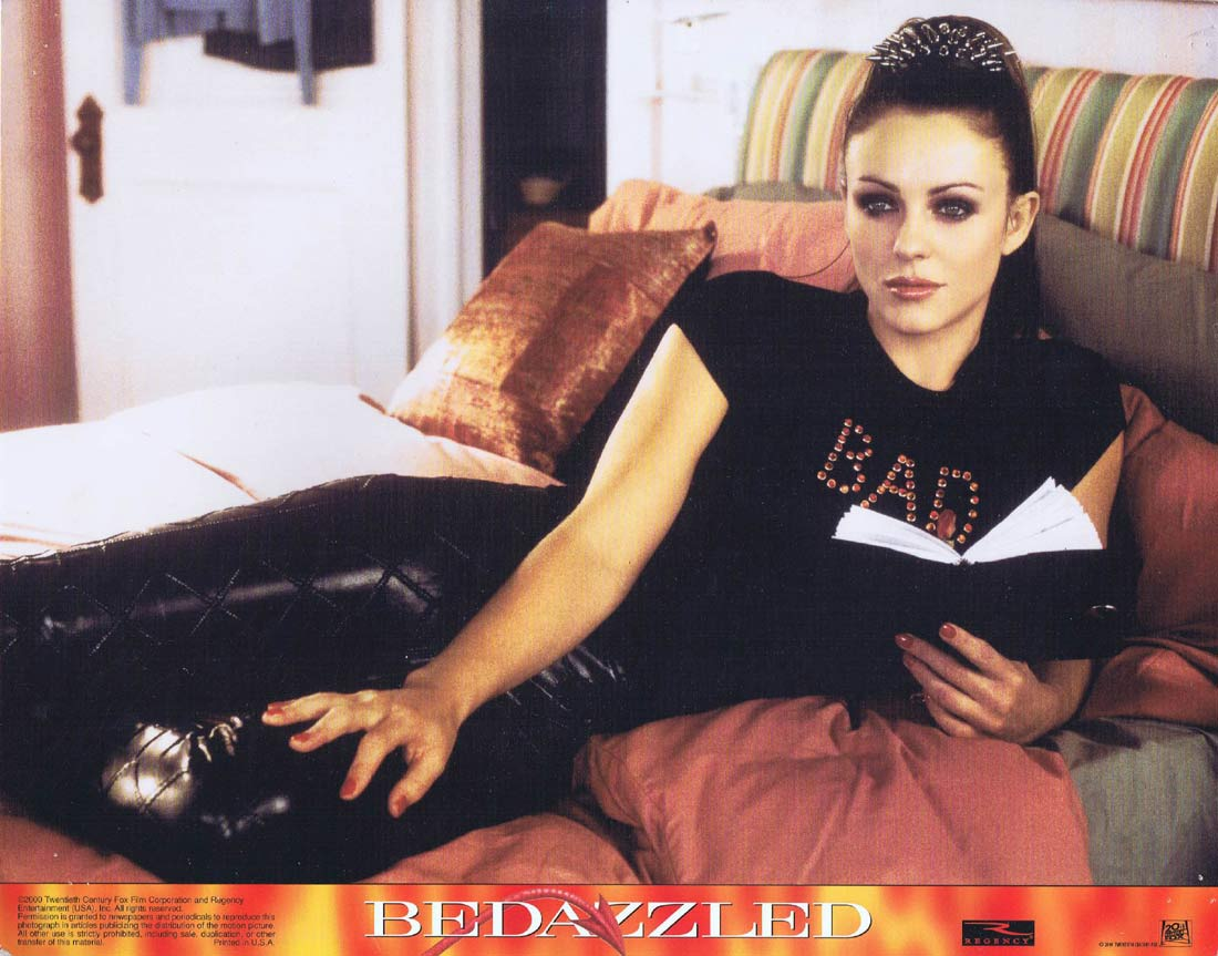 BEDAZZLED Original Lobby Card 2 Brendan Fraser Elizabeth Hurley