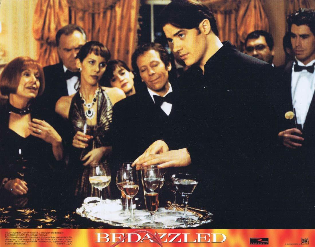 BEDAZZLED Original Lobby Card 3 Brendan Fraser Elizabeth Hurley