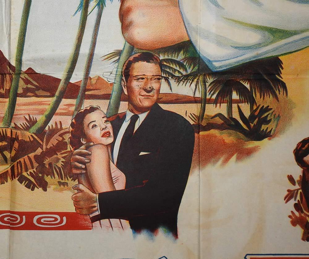 BIG JIM MCLAIN Original 3 Sheet Movie Poster John Wayne