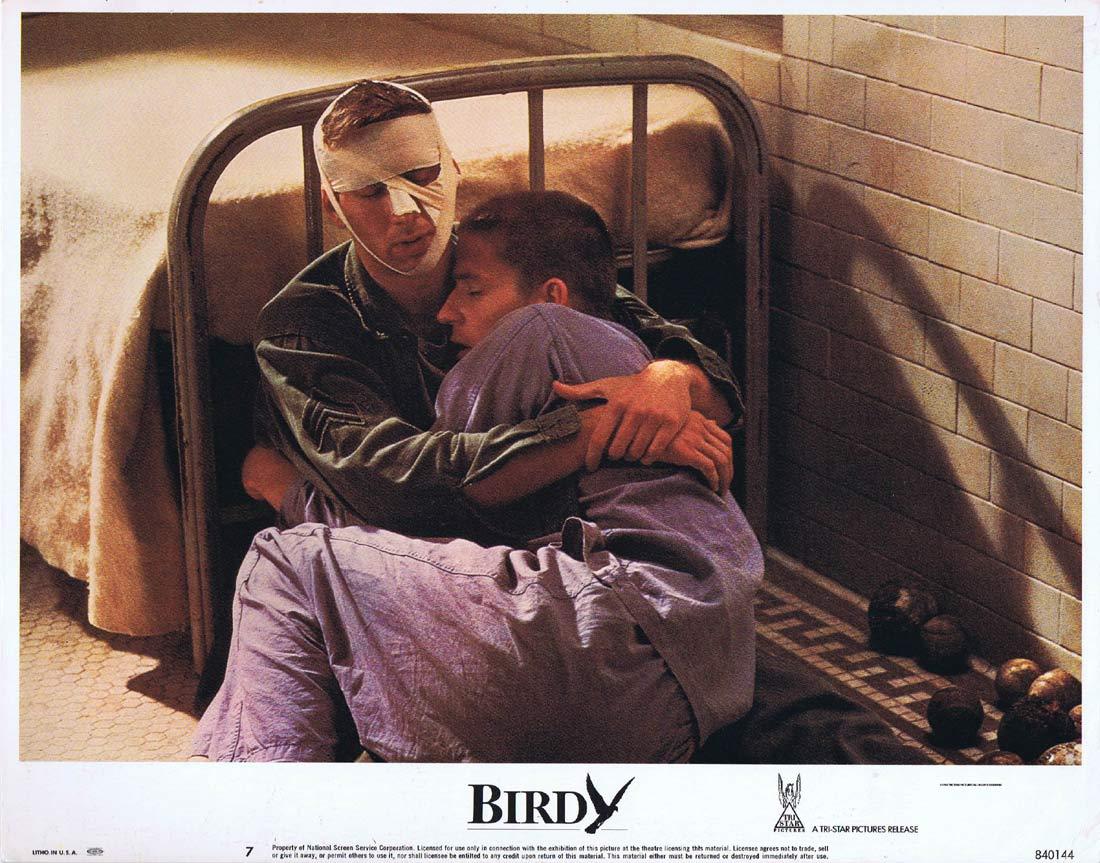 BIRDY Original Lobby Card 7 Matthew Modine Nicolas Cage John Harkins