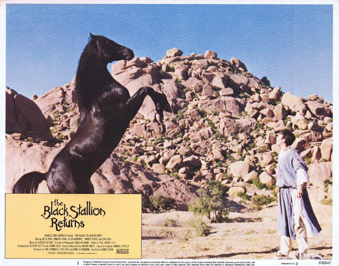 THE BLACK STALLION RETURNS Original Lobby Card 1 Kelly Reno Vincent Spano