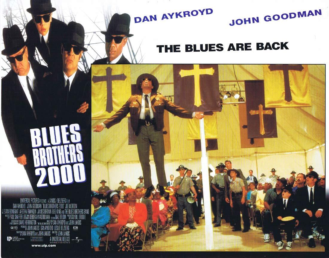 THE BLUES BROTHERS 2000 Original Lobby Card 2 Dan Aykroyd John Goodman