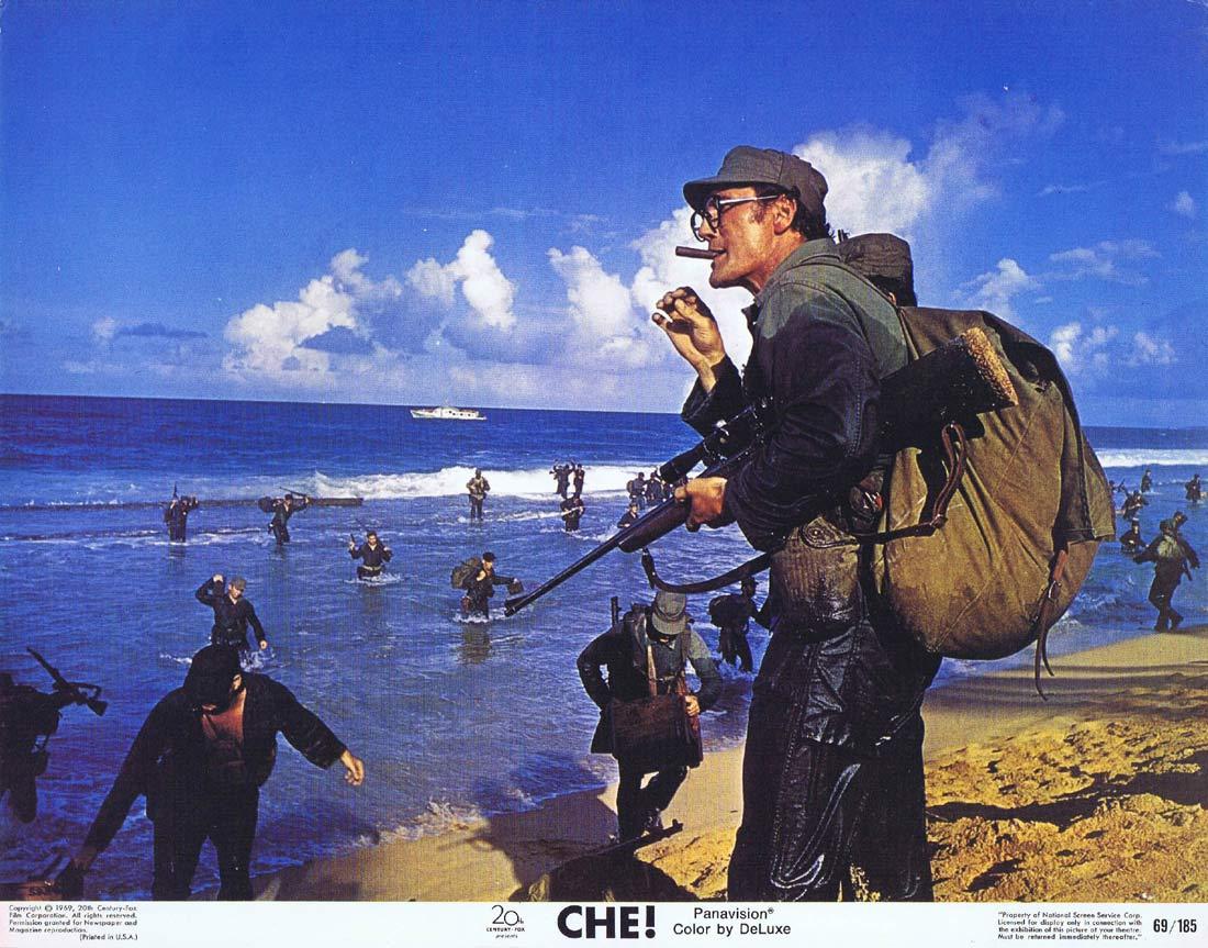 CHE! Original Lobby Card Omar Sharif Jack Palance Cesare Danova