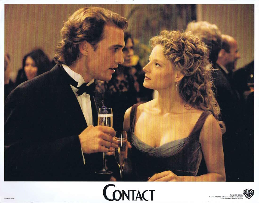 CONTACT Original Lobby Card 2 Jena Malone David Morse Jodie Foster