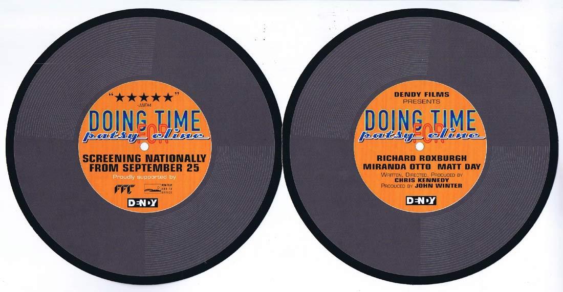 DOING TIME FOR PATSY CLINE Original Movie Flyer Miranda Otto Richard Roxburgh b