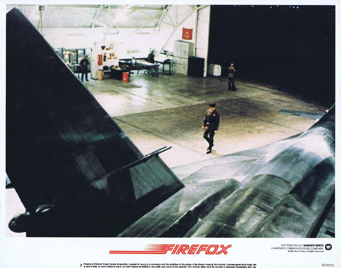 FIREFOX Original Lobby Card 7 Clint Eastwood Freddie Jones