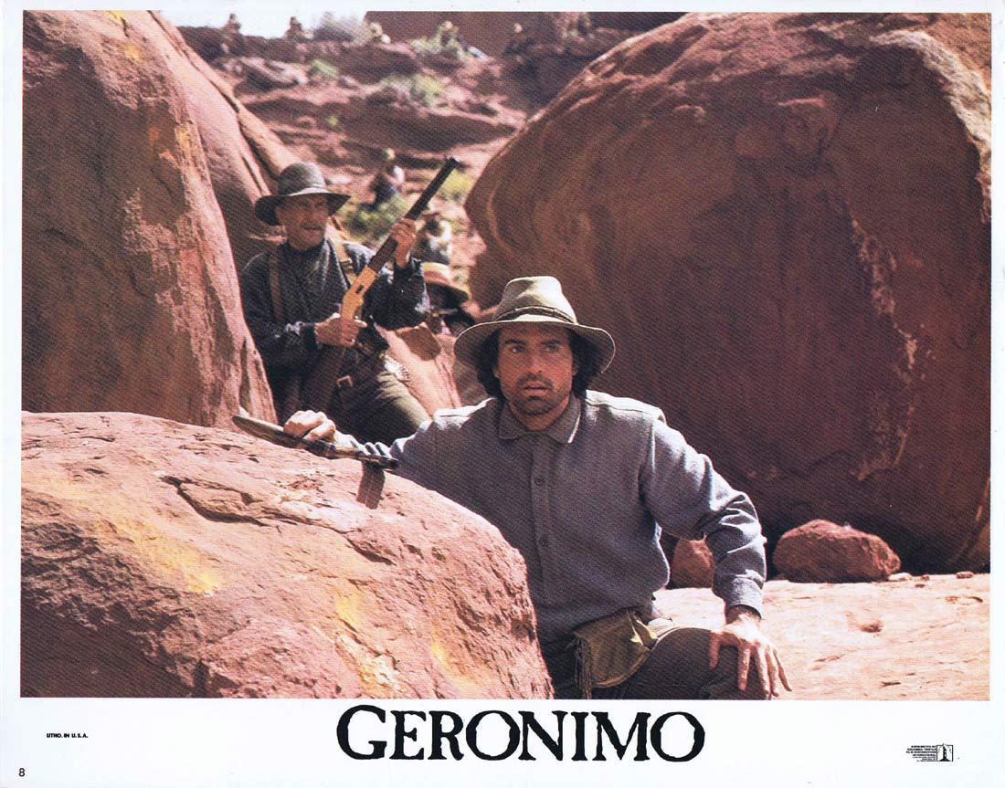 GERONIMO Original Lobby Card 8 Jason Patric Gene Hackman Robert Duvall