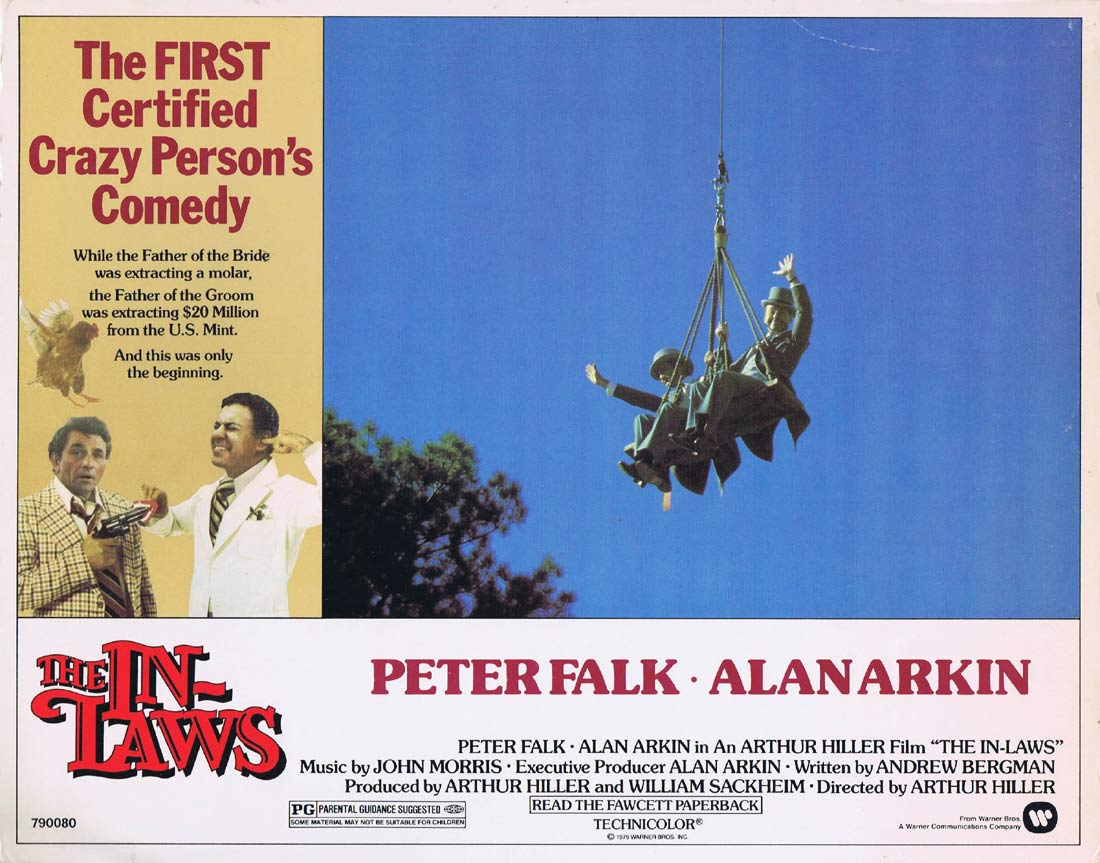 THE IN LAWS Original Lobby Card 5 Peter Falk Alan Arkin