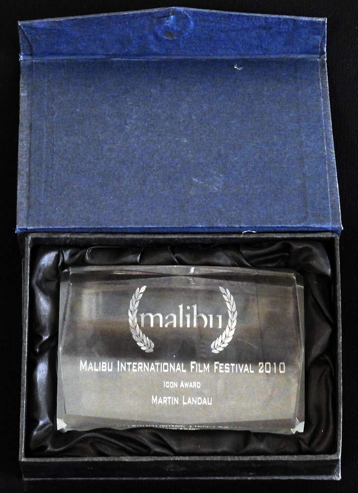 MARTIN LANDAU Icon Award Mailibu 2010
