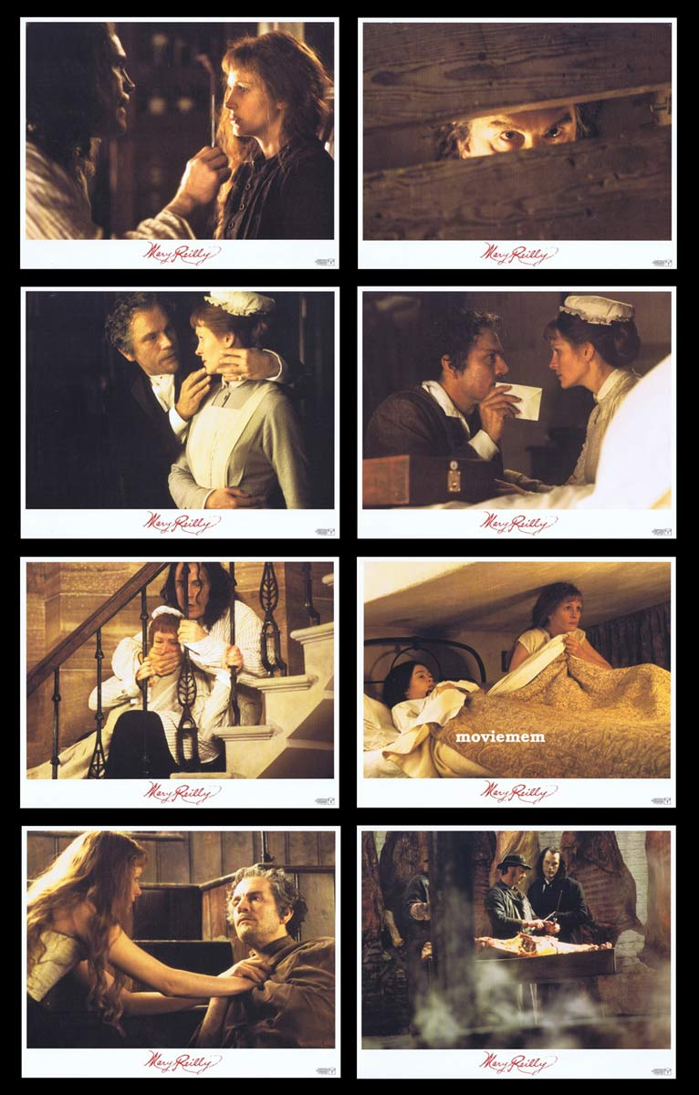 MARY REILLY Original Lobby Card Set Julia Roberts John Malkovich