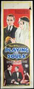 PLAYING WITH SOULS Long Daybill Movie poster 1925 Jacqueline Logan Mary Astor