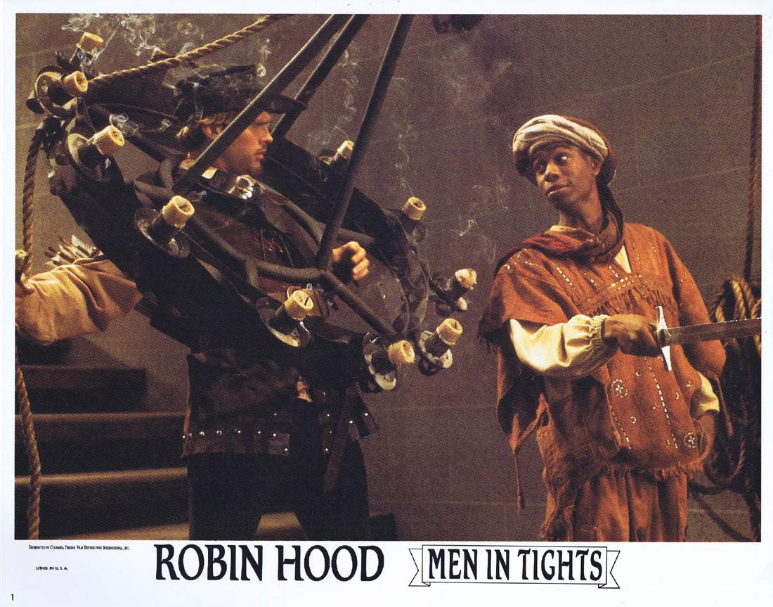 ROBIN HOOD MEN IN TIGHTS Original Lobby Card 1 Cary Elwes Mel Brooks