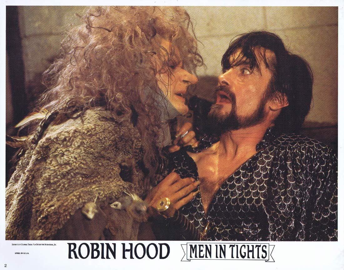 ROBIN HOOD MEN IN TIGHTS Original Lobby Card 2 Cary Elwes Mel Brooks