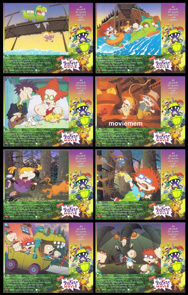 THE RUGRATS MOVIE Original Lobby Card Set  Elizabeth Daily Christine Cavanaugh