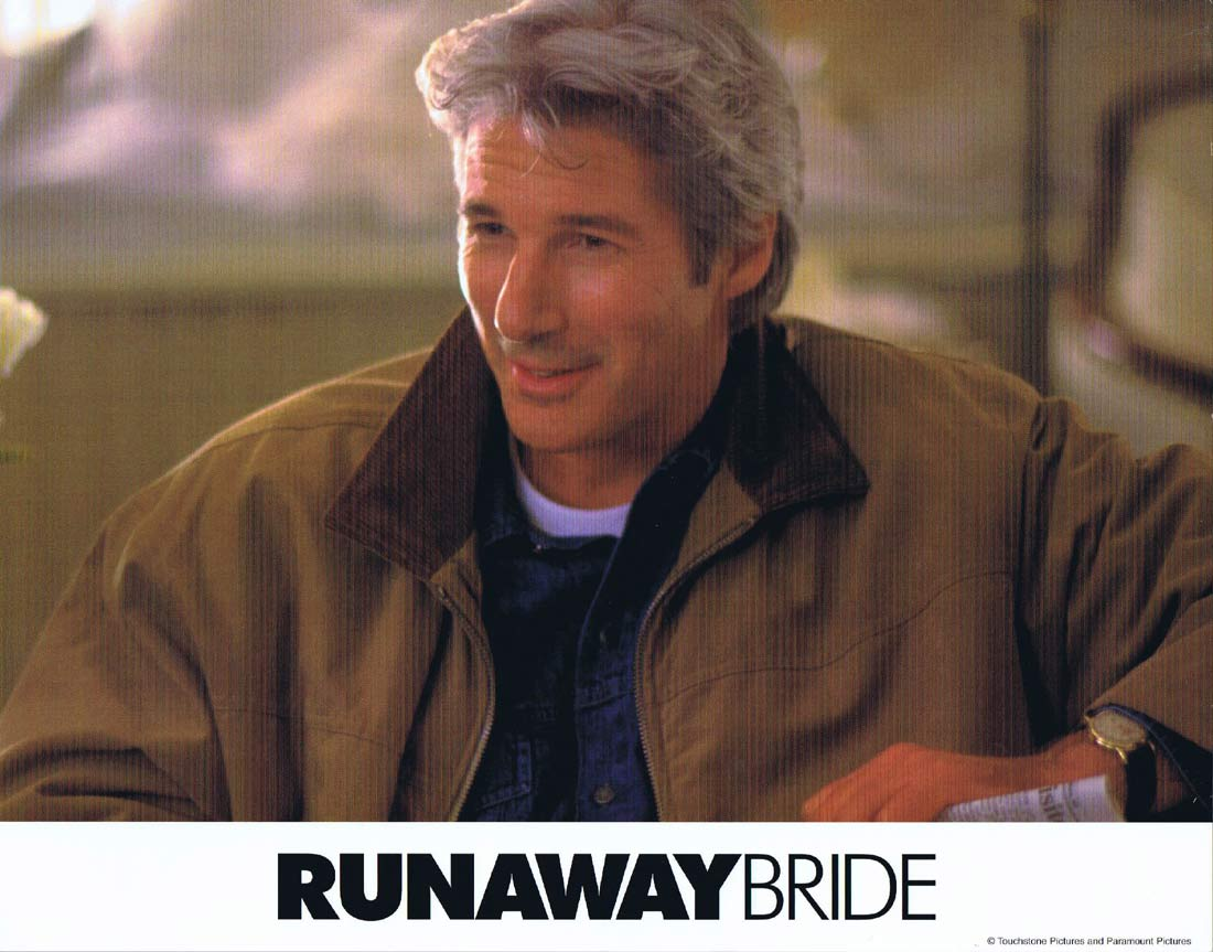 RUNAWAY BRIDE Original Lobby Card 1 Julia Roberts Richard Gere Joan Cusack