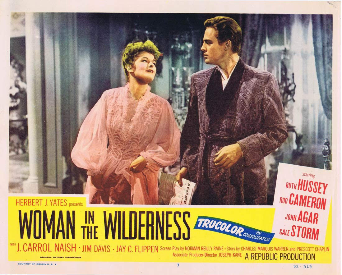 WOMAN IN THE WILDERNESS Original Lobby Card 7 Rod Cameron Ruth Hussey