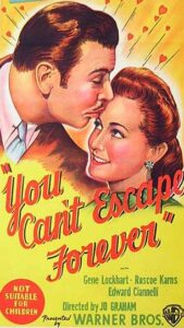 YOU CAN'T ESCAPE FOREVER Daybill Movie Poster Original or Reissue? image