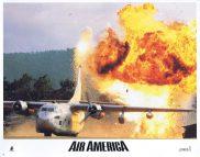 AIR AMERICA Original Lobby Card 6 Mel Gibson Robert Downey Jr