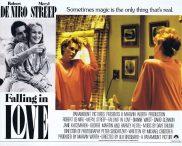 FALLING IN LOVE Original Lobby Card 2 Robert De Niro Meryl Streep