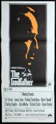 THE GODFATHER Original Daybill Movie poster Marlon Brando Al Pacino