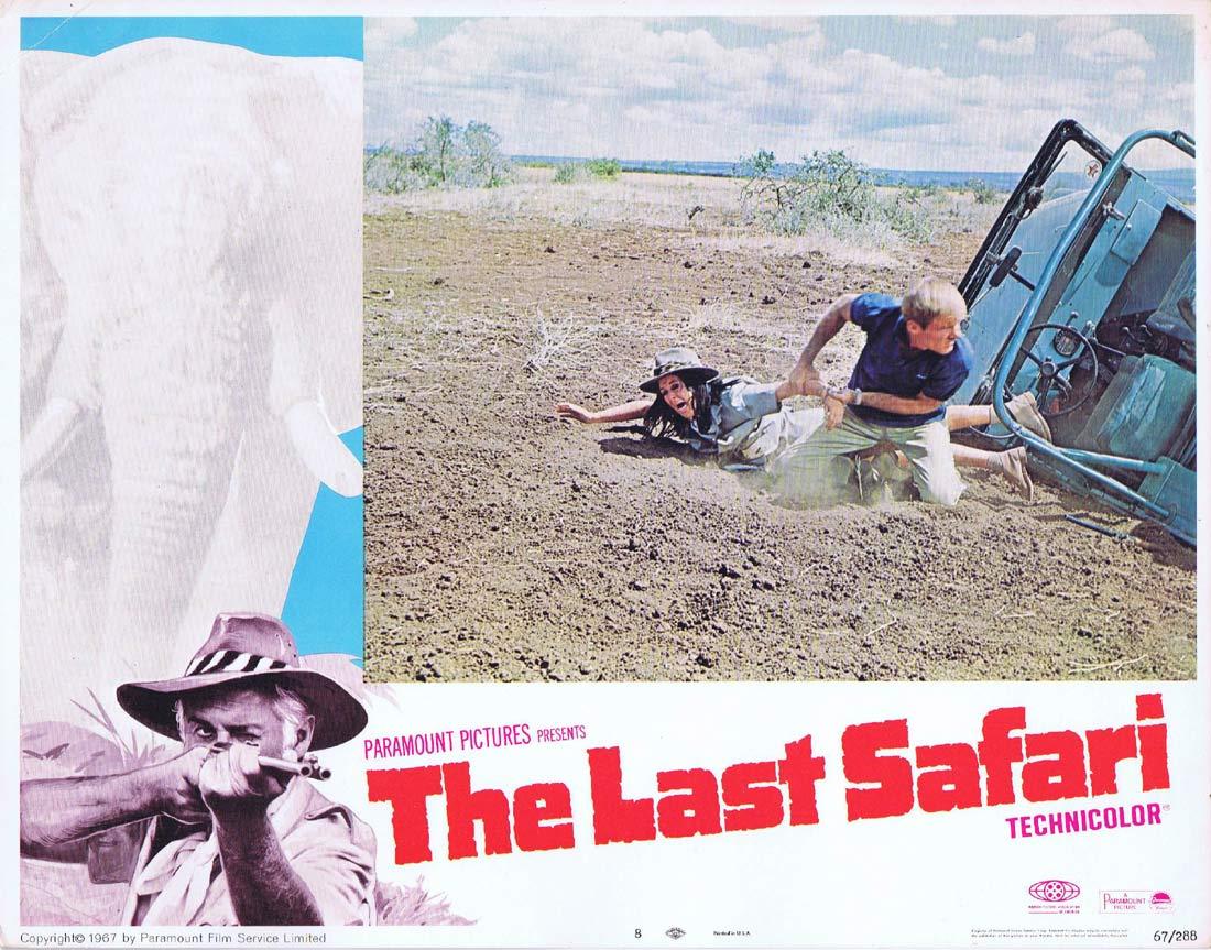 THE LAST SAFARI Original Lobby Card 8 Kaz Garas Stewart Granger