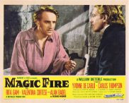 MAGIC FIRE Original Lobby Card 3 Alan Badel Yvonne De Carlo