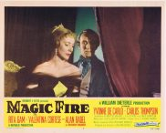 MAGIC FIRE Original Lobby Card 7 Alan Badel Yvonne De Carlo