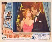 PARIS FOLLIES OF 1956 Original Lobby Card 4 Forrest Tucker Margaret Whiting