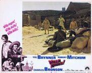 VILLA RIDES Original Lobby Card 1 Yul Brynner Robert Mitchum
