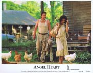 ANGEL HEART Original Lobby Card 5 Mickey Rourke Robert De Niro