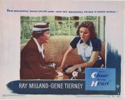 CLOSE TO MY HEART Original Lobby Card 4 Gene Tierney Ray Milland