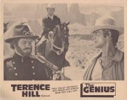 THE GENIUS Original Lobby Card 2 Terence Hill Sergio Leone
