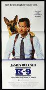 K-9 Original Daybill Movie poster James Belushi  Jerry Lee Mel Harris