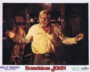 SCANDALOUS JOHN Original Lobby Card Brian Keith Alfonso Arau