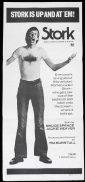 STORK Original Daybill Movie Poster Bruce Spence Jacki Weaver BW