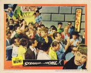 STRANGER ON THE PROWL Original Lobby Card 5 Paul Muni Joan Lorring