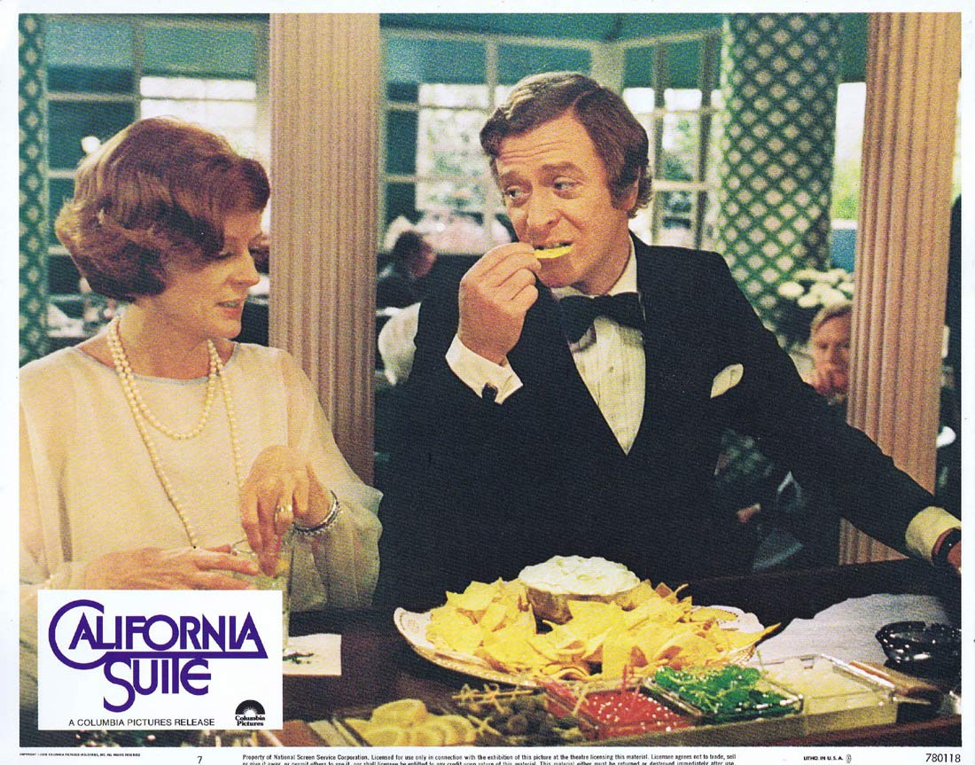 CALIFORNIA SUITE Original US Lobby Card 7 Alan Alda Michael Caine