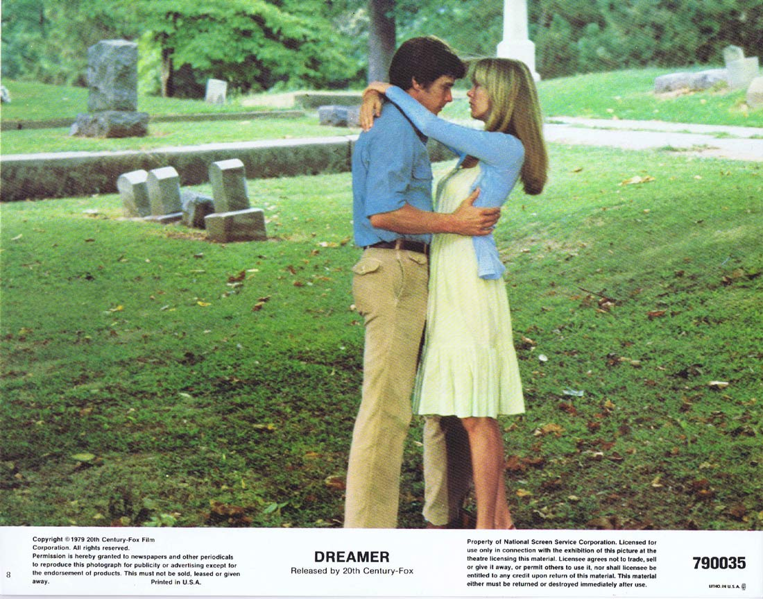 DREAMER Lobby Card 8 Tim Matheson Susan Blakely Ten Pin Bowling