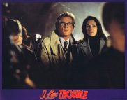 I LOVE TROUBLE Lobby Card 2 Julia Roberts Nick Nolte