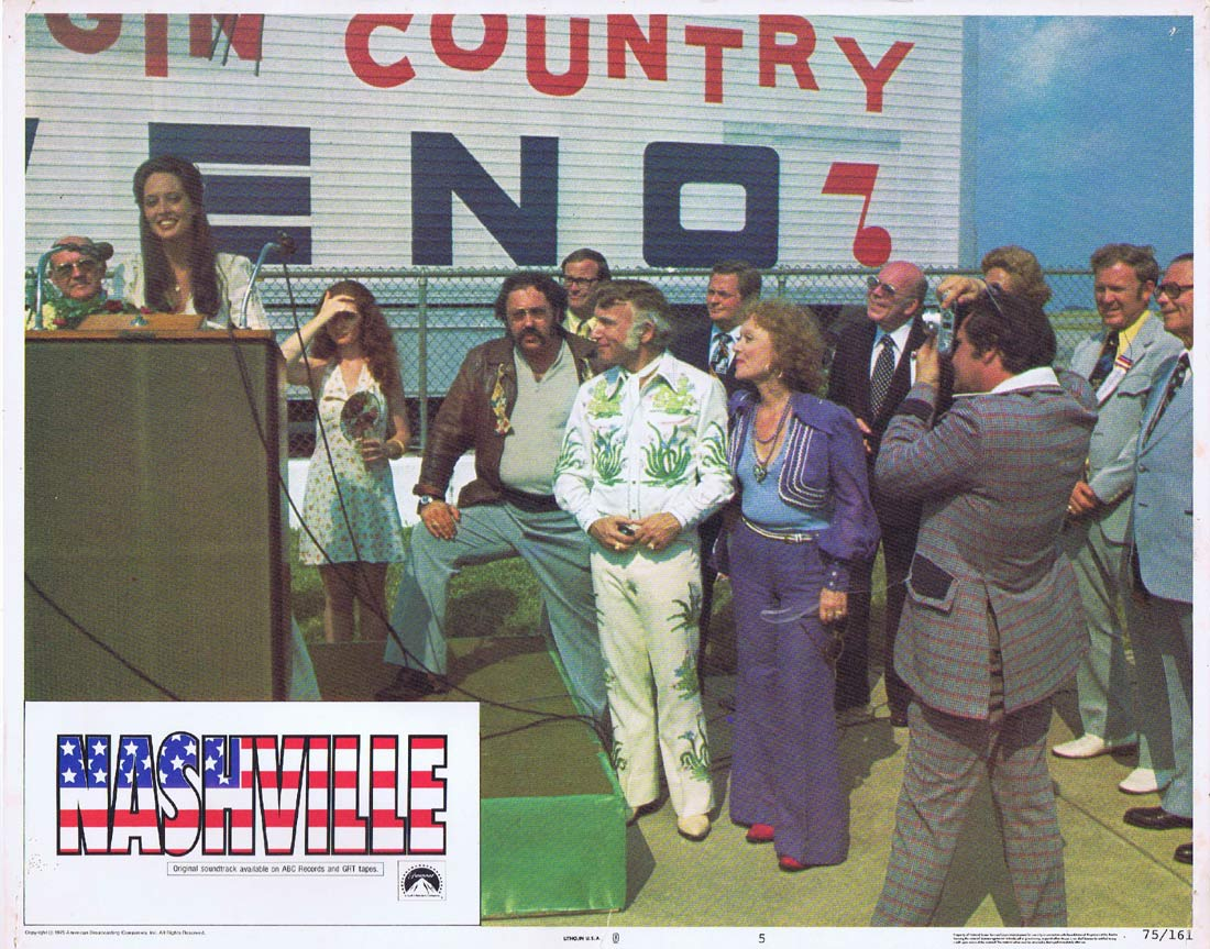 NASHVILLE Original US Lobby Card 5 Ned Beatty Ronee Blakley