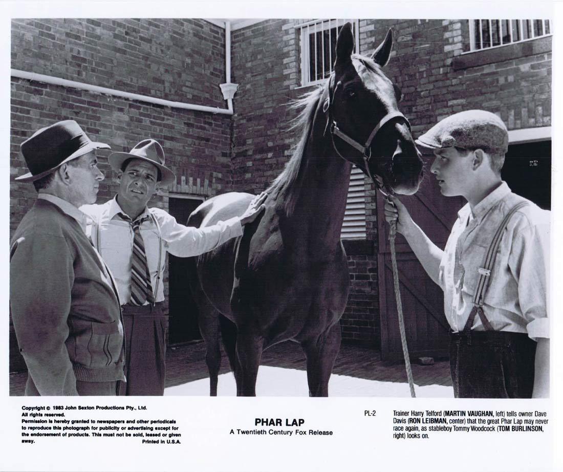 PHAR LAP Original Movie Still 25 Horse Racing Tom Burlinson