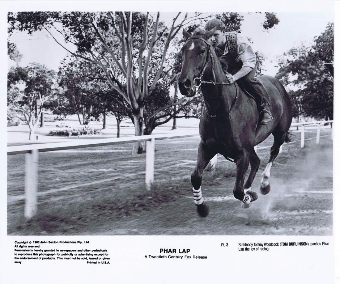 PHAR LAP Original Movie Still 26 Horse Racing Tom Burlinson