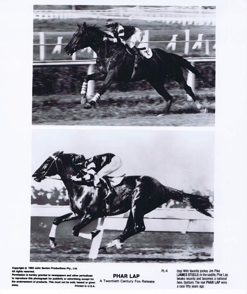 PHAR LAP Original Movie Still 27 Horse Racing Tom Burlinson