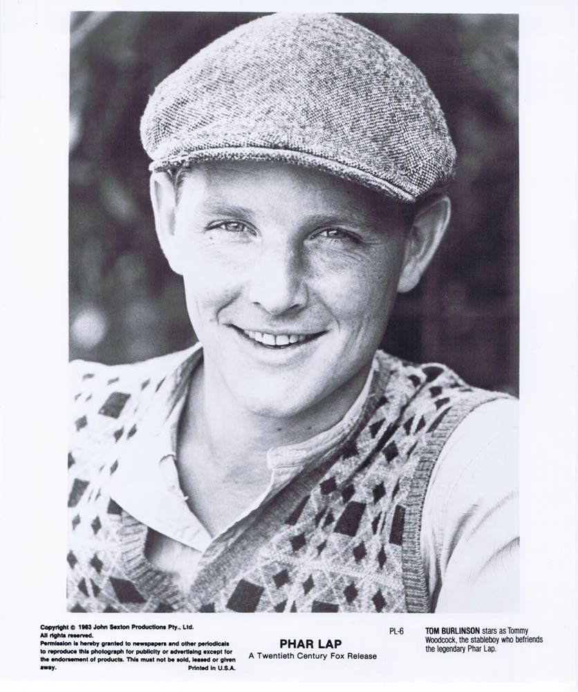PHAR LAP Original Movie Still 29 Horse Racing Tom Burlinson