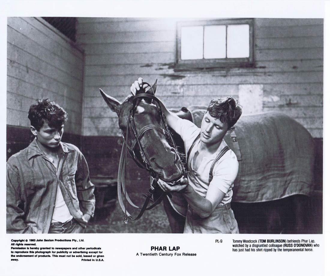 PHAR LAP Original Movie Still 30 Horse Racing Tom Burlinson