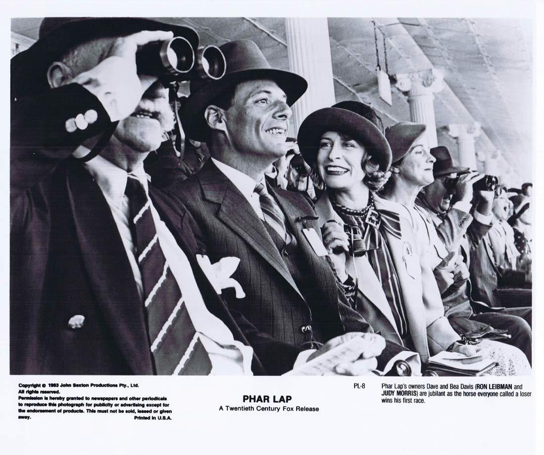 PHAR LAP Original Movie Still 32 Horse Racing Tom Burlinson