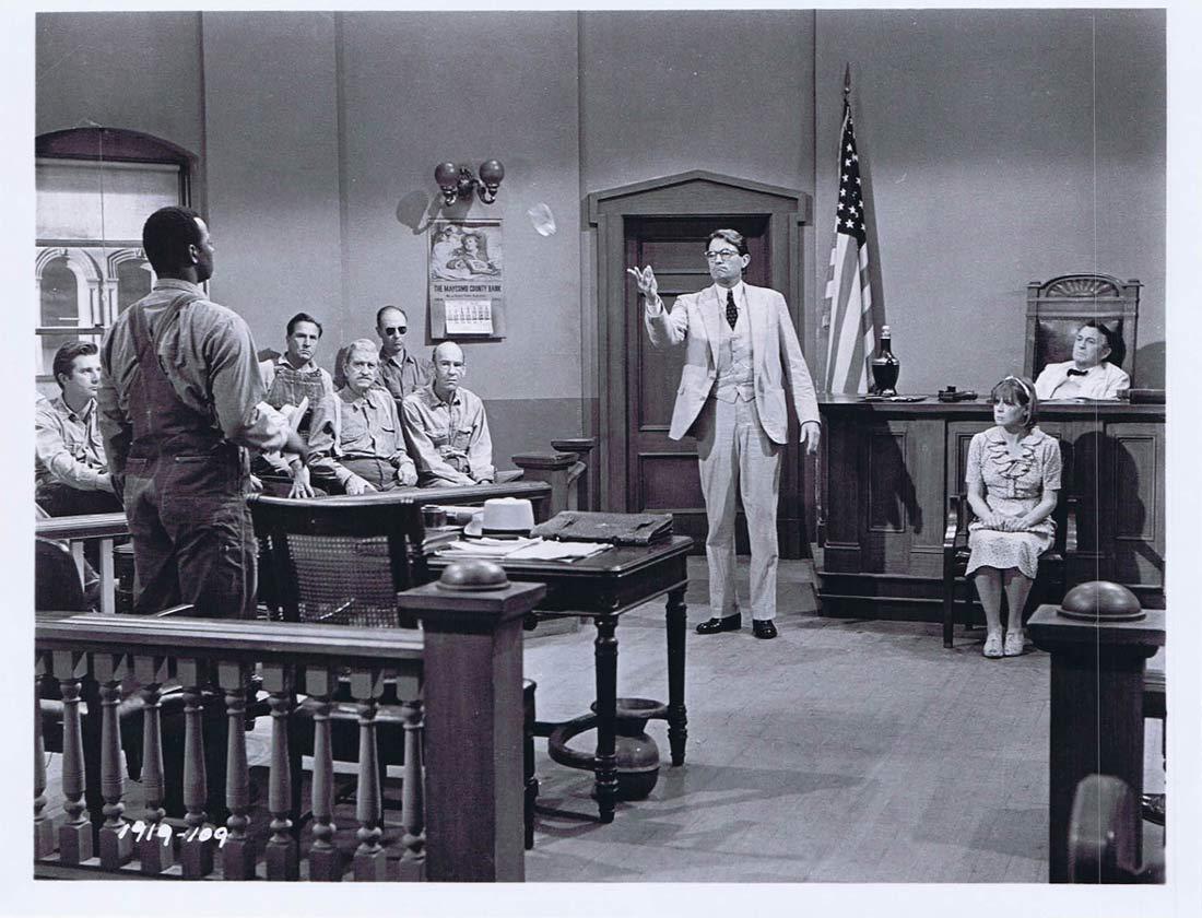 TO KILL A MOCKINGBIRD Original Movie Still 2 Gregory Peck Mary Badham