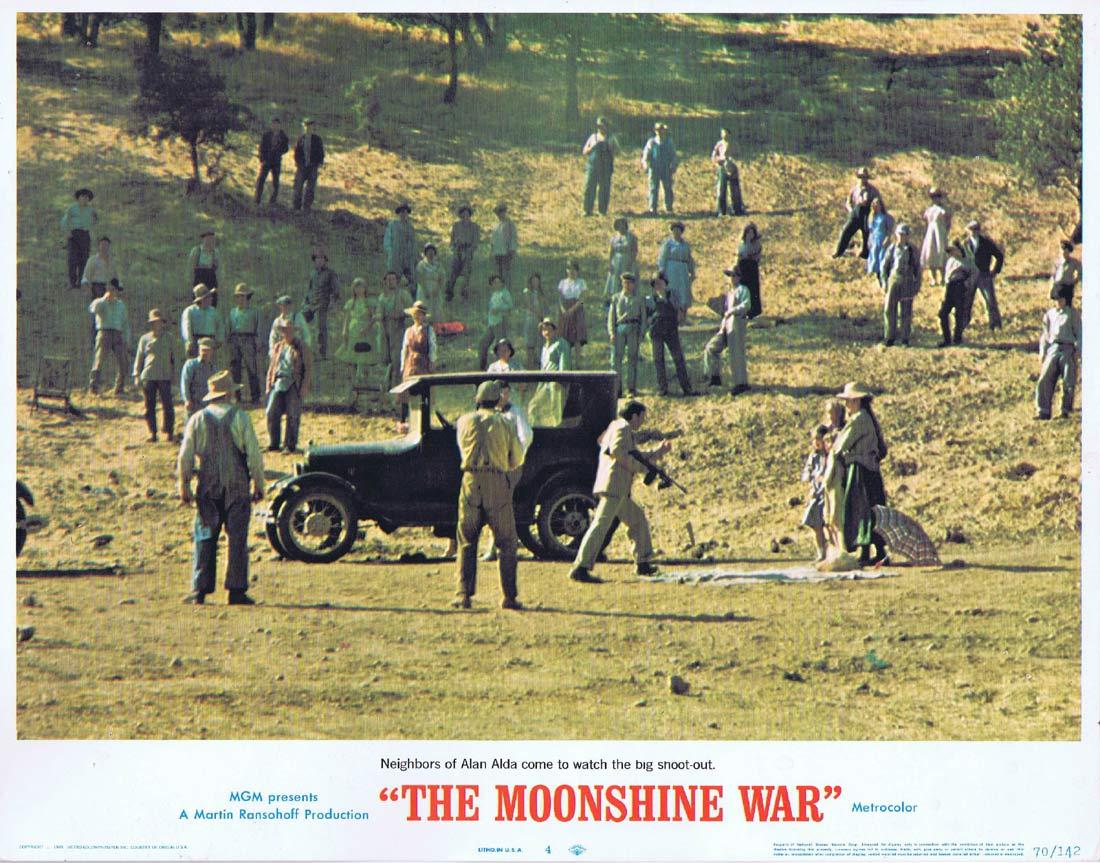 THE MOONSHINE WAR Original Lobby Card 4 Patrick McGoohan Richard Widmark