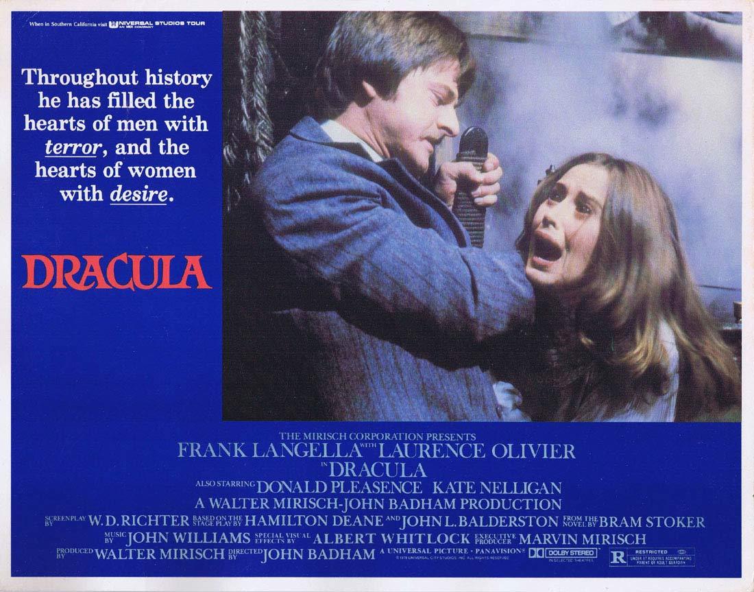 DRACULA Lobby Card 1 Frank Langella Laurence Olivier Donald Pleasence