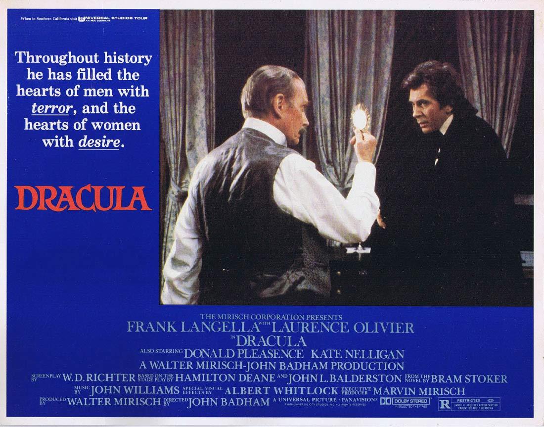 DRACULA Lobby Card 3 Frank Langella Laurence Olivier Donald Pleasence